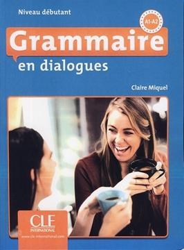 تصویر Grammaire en dialogues Niveau debutant-A1-A2+CD