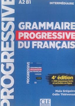 تصویر Grammaire Progressive du Francais Intermediaire-4th+CD