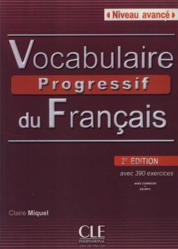 تصویر Vocabulaire Progressif du Francais Niveau Avance+CD