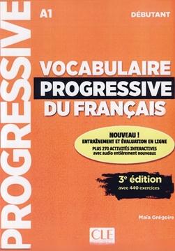 تصویر Vocabulaire Progressive du Francais Debutant-3rd+CD