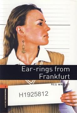 تصویر Oxford Bookworms 2: Ear-rings from Frankfurt