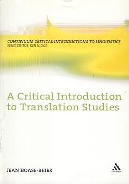 تصویر A Critical Introduction to Translation Studies