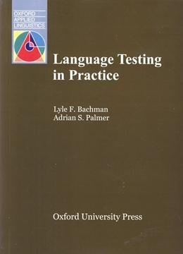 تصویر Language Testing in Practice