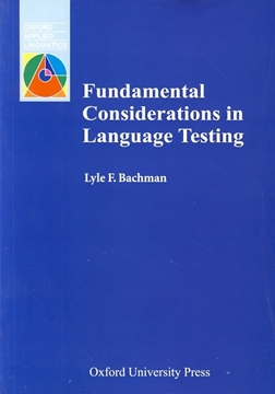 تصویر Fundamental Considerations in Language Testing