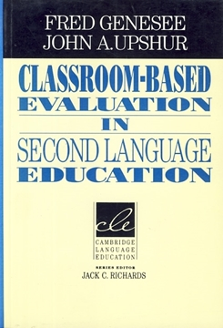 تصویر Classroom-Based Evaluation in Second Language Education