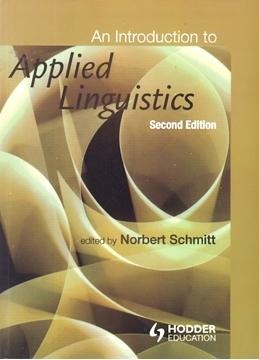 تصویر An Introduction to Applied Linguistics-second Edition