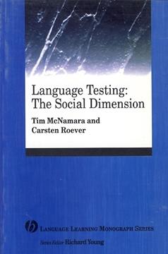 تصویر Language Testing : The Social Dimension