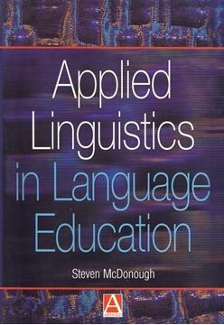 تصویر Applied Linguistics in Language Education
