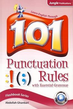 تصویر 101Punctuation Rules with Essential Grammar