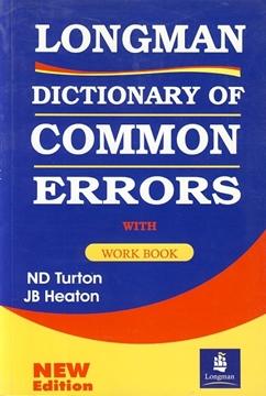 تصویر Longman Dictionary Common Errors