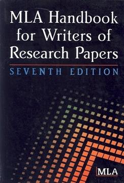 تصویر MLA Handbook for Writers of Research Papers-Seventh Edition