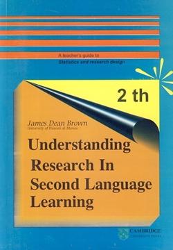 تصویر Understanding Research in second Language Learning