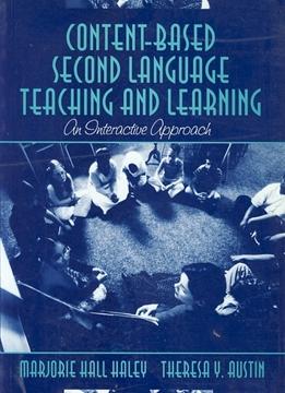 تصویر Content-Based Second Language Teaching and Learning