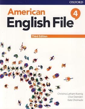 تصویر American English File 4 3rd Edition +Workbook+DVD
