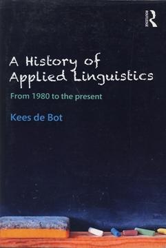 تصویر A History of Applied Linguistics
