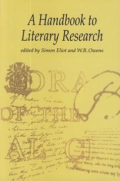 تصویر A Handbook to Literary Research