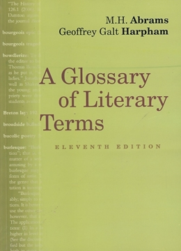 تصویر A Glossary of Literary Terms- Eleventh Edition